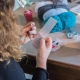 Creazioni personalizzate in plastic canvas | Magliamo'