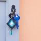 Porta chiavi handmade plastic canvas Magliamo'